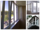 Пластиковая лоджия балкон пвх 1380*3000 купить в санкт-петер.